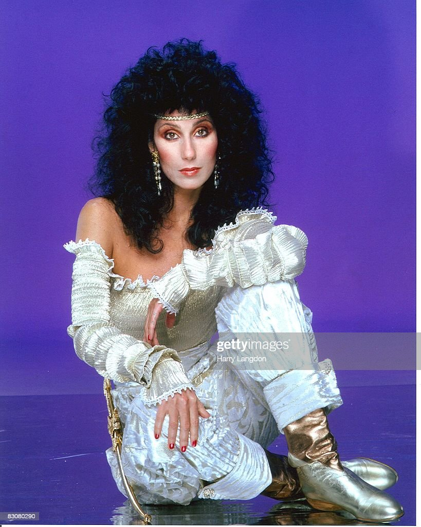 Singer and actress Cher poses for a photo session in June 1981 in Los Angeles, California.