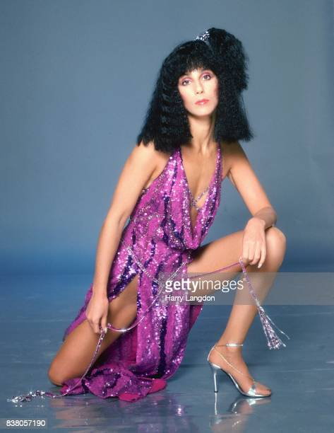 Singer and actress Cher poses for a portrait in 1978 in Los Angeles California