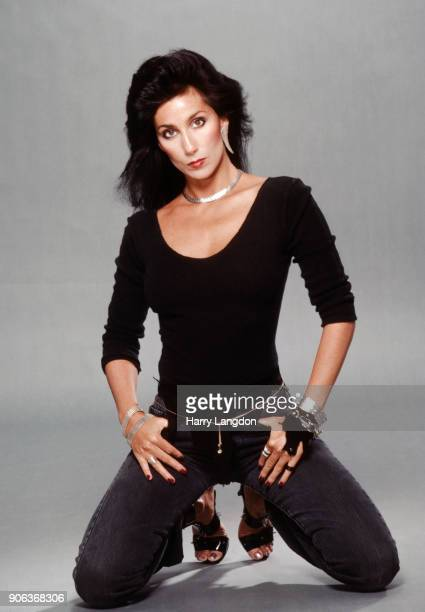 Singer and actress CHER poses for a portrait in 1983 in Los Angeles, California.