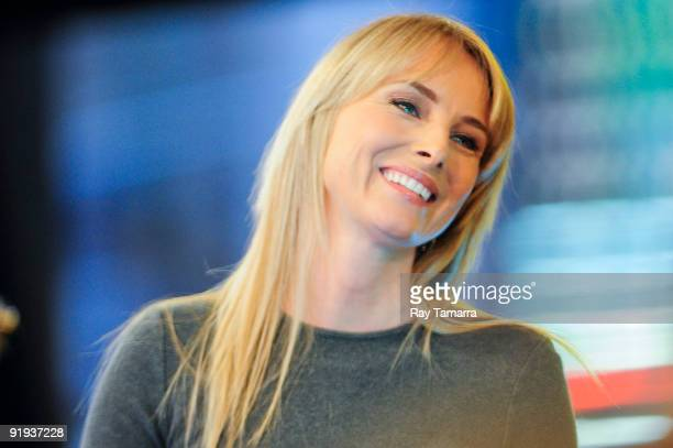 Singer and actress Chynna Phillips performs at the Good Morning America taping at the ABC Times Square Studios on October 16 2009 in New York City