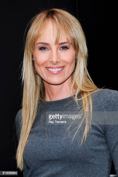 Singer and actress Chynna Phillips visits the Good Morning America taping at the ABC Times Square Studios on October 16 2009 in New York City