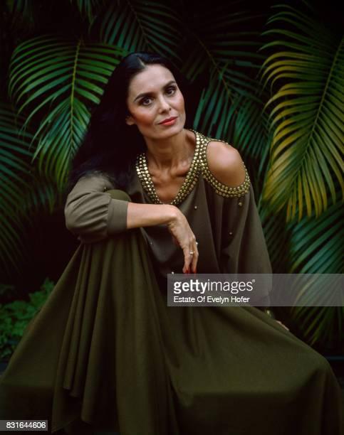 Singer and actress Daliah Lavi California 1982