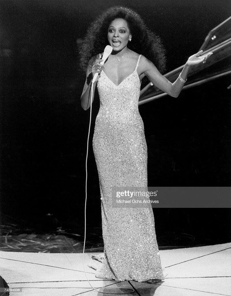 Diana Ross : News Photo