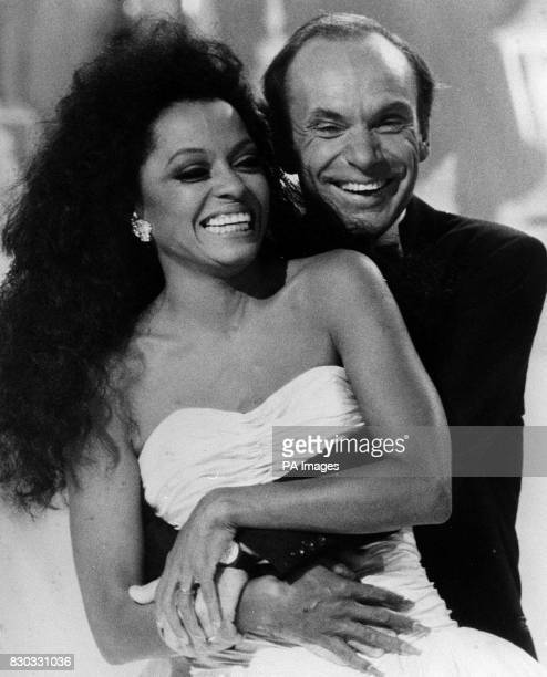 Singer and Actress Diana Ross with her multimillionaire husband Arne Naess *12/2/00 Ross and Naess have divorced in the Dominican Republic Judge...