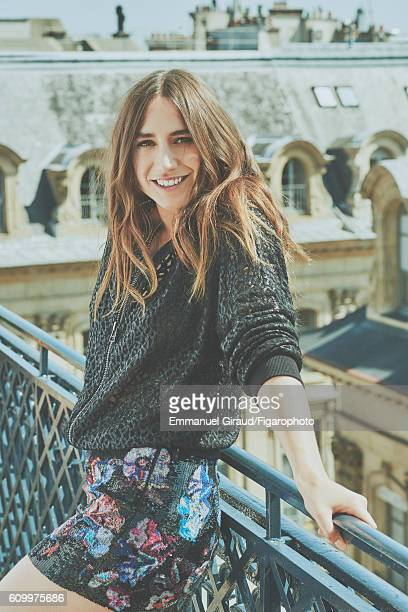 Singer and actress Izia Higelin is photographed for Madame Figaro on June 9 2016 in Paris France Jacket skirt PUBLISHED IMAGE CREDIT MUST READ...