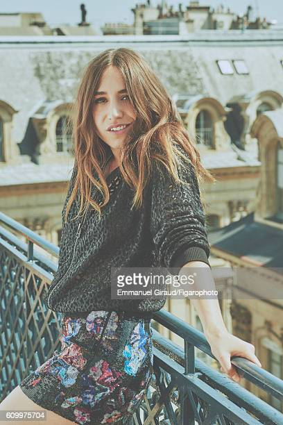Singer and actress Izia Higelin is photographed for Madame Figaro on June 9 2016 in Paris France Jacket skirt CREDIT MUST READ Emmanuel...