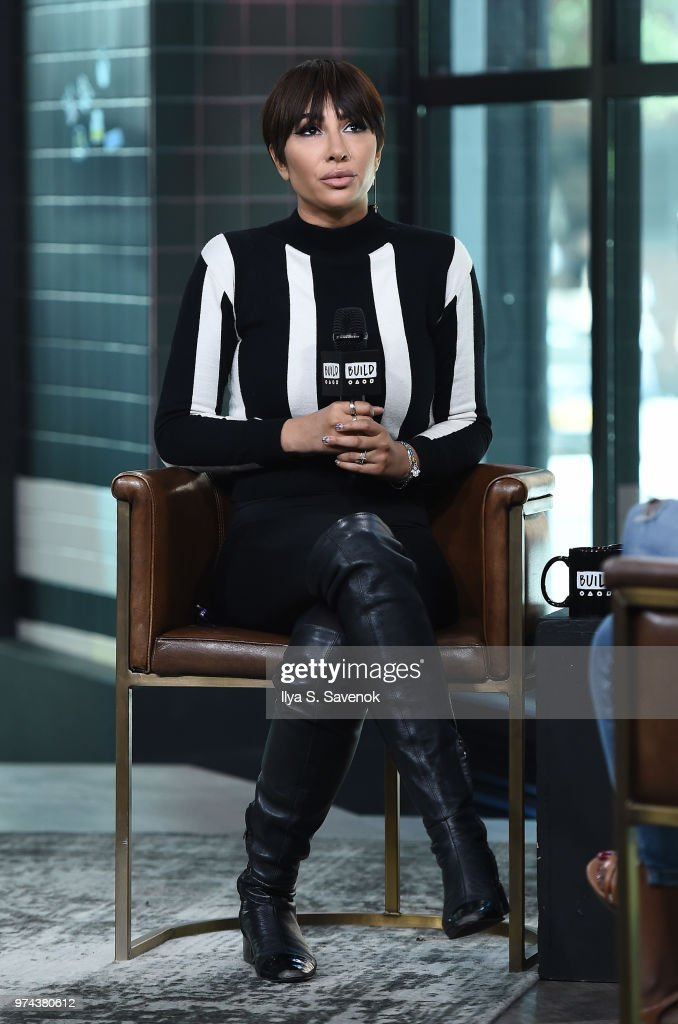 Singer and actress Jackie Cruz visits Build Series to discuss her album 'La Hora Loca' at Build Studio on June 14, 2018 in New York City.