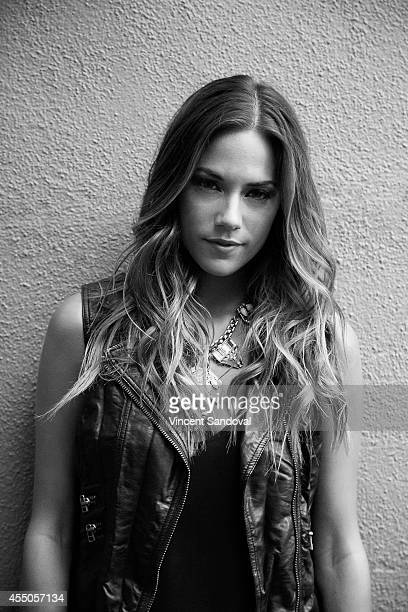Singer and actress Jana Kramer is photographed for Self Assignment on July 24 2014 in Universal City California