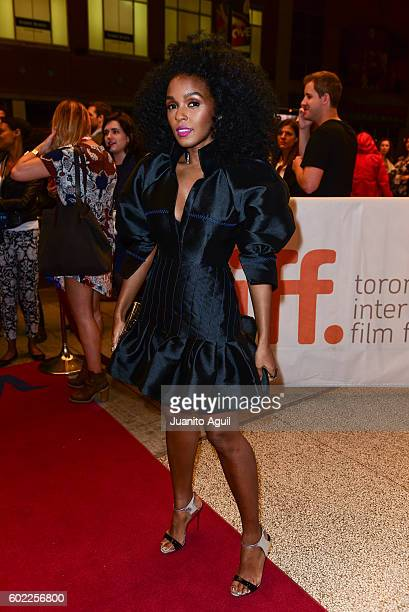 Singer and Actress Janelle Monae attends the premiere of 'Moonlight' during the 2016 Toronto International Film Festival at Winter Garden Theatre on...