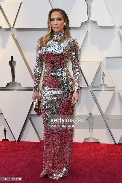 US singer and actress Jennifer Lopez arrives for the 91st Annual Academy Awards at the Dolby Theatre in Hollywood California on February 24 2019