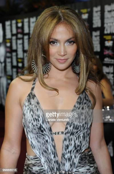 Singer and actress Jennifer Lopez attends the World Music Awards 2010 at the Sporting Club on May 18, 2010 in Monte Carlo, Monaco.