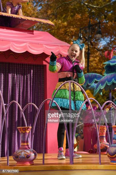 Singer and actress Jo Jo Siwa takes part in the 91st Annual Macy's Thanksgiving Day Parade on November 22 2017 in New York City