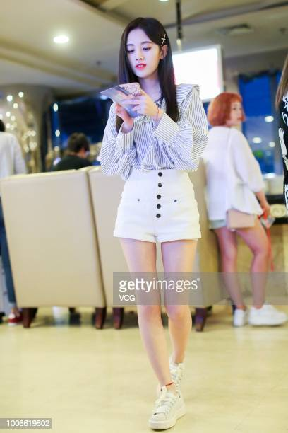 Ju Jingyi Sightings In Beijing Photos and Premium High Res