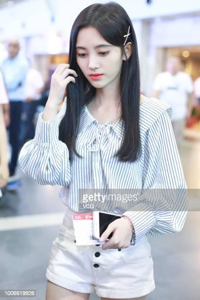 Ju Jingyi Gallery Pictures : Ju Jingyi Sightings In Beijing Photos and Premium High Res