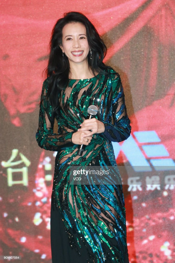 Karen Mok Attends Launch Ceremony In Shanghai