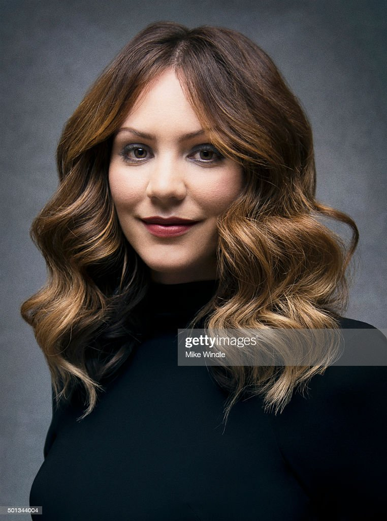Singer and actress Katharine McPhee poses for a portrait at the Sinatra 100: An All-Star GRAMMY Concert at Wynn Las Vegas on December 2, 2015 in Las Vegas, Nevada.
