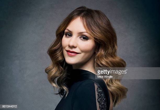 Singer and actress Katharine McPhee poses for a portrait at the Sinatra 100 An AllStar GRAMMY Concert at Wynn Las Vegas on December 2 2015 in Las...