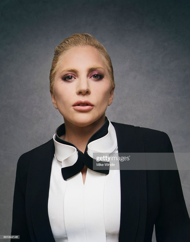 Singer and actress Lady Gaga poses for a portrait at the Sinatra 100: An All-Star GRAMMY Concert at Wynn Las Vegas on December 2, 2015 in Las Vegas, Nevada.
