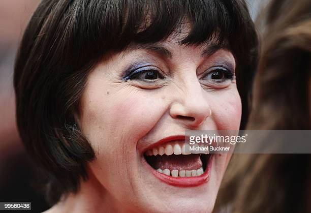 Singer and actress Lio attends the You Will Meet A Tall Dark Stranger Premiere at the Palais des Festivals during the 63rd Annual Cannes Film...
