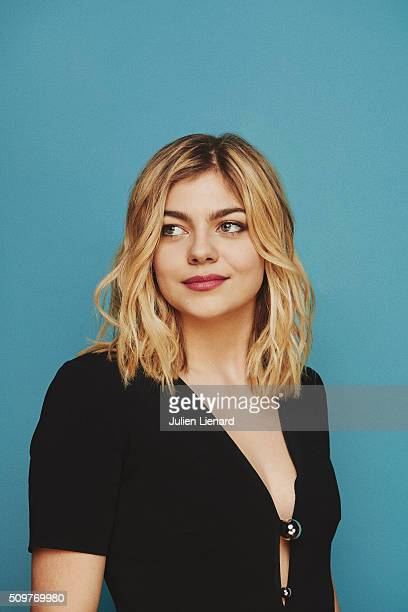 Singer and actress Louane Emera is photographed for for Self Assignment on February 2 2016 in Paris France