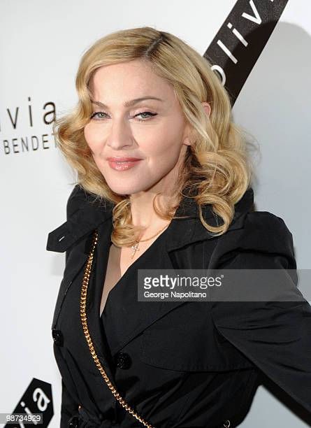 Singer and actress Madonna attends the 2nd Annual Bent on Learning Benefit at The Puck Building on April 28 2010 in New York City