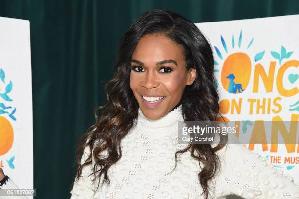 Singer and actress Michelle Williams attends 'Once On This Island' photo call on November 15 2018 in New York City