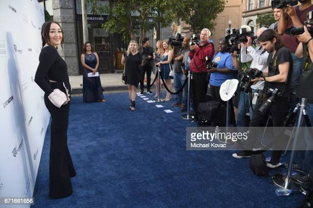 Singer and actress Noah Cyrus at The Humane Society of the United States' To the Rescue Los Angeles Gala at Paramount Studios on April 22 2017 in...