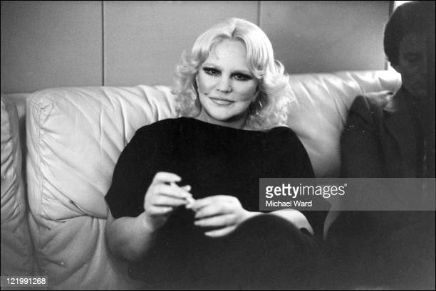 Singer and actress Peggy Lee Palladian Dressing Room 1980