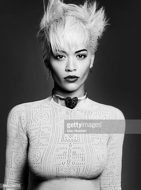 Singer and actress Rita Ora is photographed for Elle Canada on September 23 2015 in Los Angeles CaliforniaPublished Image