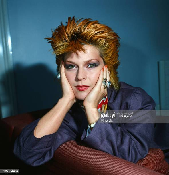 Singer and actress Toyah Willcox 1981