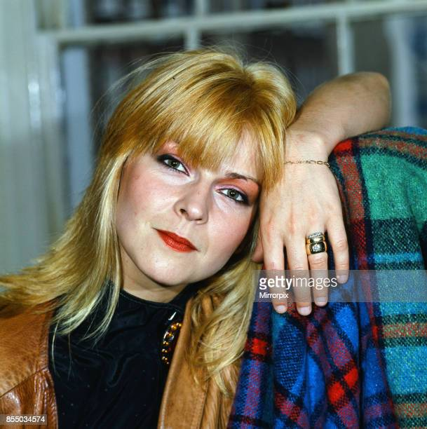 Singer and actress Toyah Willcox October 1986