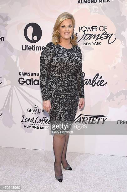 Singer and actress Trisha Yearwood attends the 2nd Annual Variety Power of Women New York Luncheon at Cipriani 42nd Street on April 24 2015 in New...