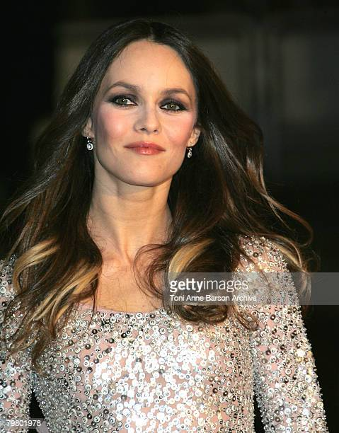 Singer and Actress Vanessa Paradis arrives at the 2008 NRJ Music Awards at the Palais des Festivals on January 26, 2008 in Cannes, France.