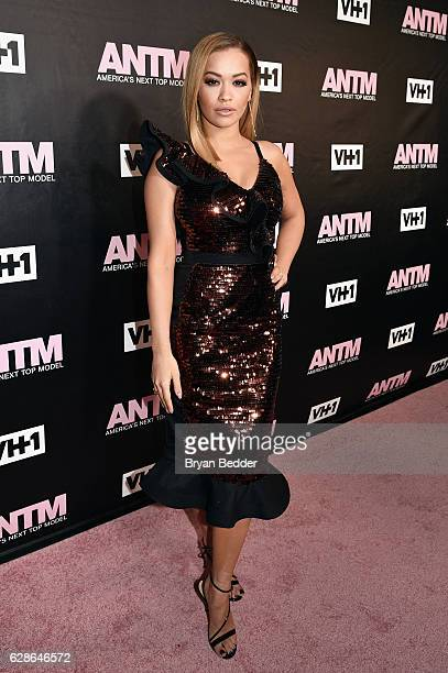 Singer and ANTM Judge, Rita Ora attend the VH1 America's Next Top Model premiere party at Vandal on December 8, 2016 in New York City.