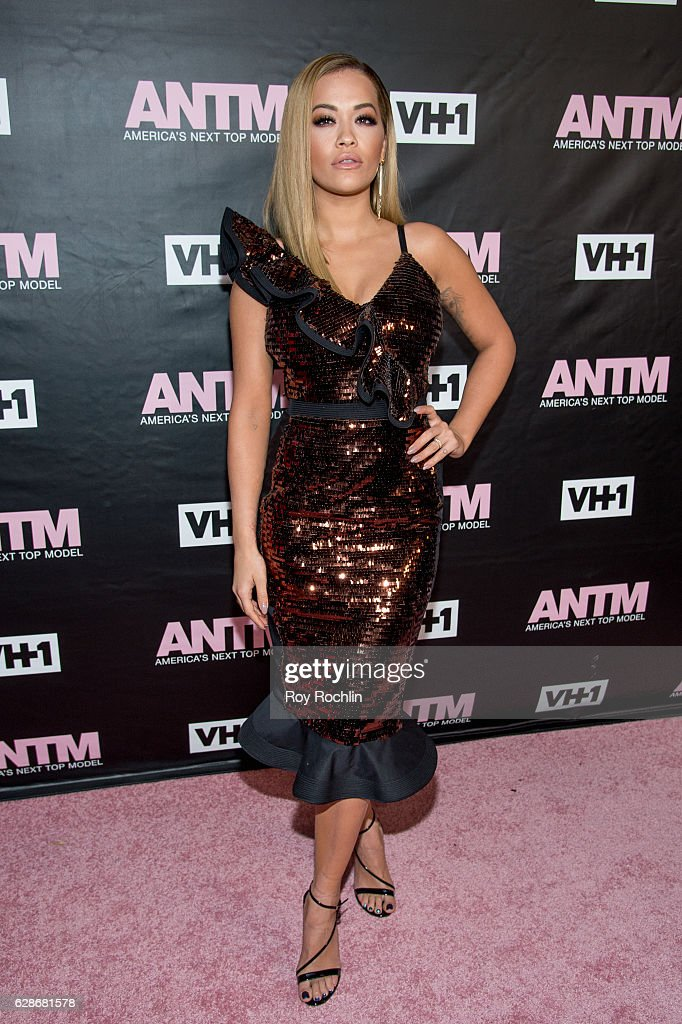 Singer and ANTM Judge, Rita Ora attends VH1's 'America's Next Top Model' Premiere at Vandal on December 8, 2016 in New York City.