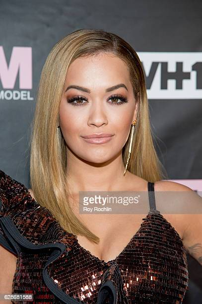 "Singer and ANTM Judge, Rita Ora attends VH1's ""America's Next Top Model"" Premiere at Vandal on December 8, 2016 in New York City."