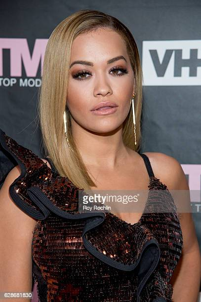 Singer and ANTM Judge Rita Ora attends VH1's 'America's Next Top Model' Premiere at Vandal on December 8 2016 in New York City