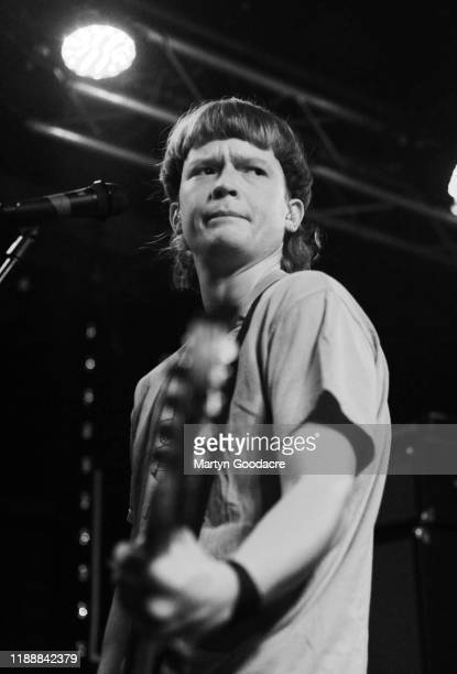 Singer and bassist Eamon Sandwith of The Chats performs on stage at Cassiopeia November 18 2019 in Berlin Germany