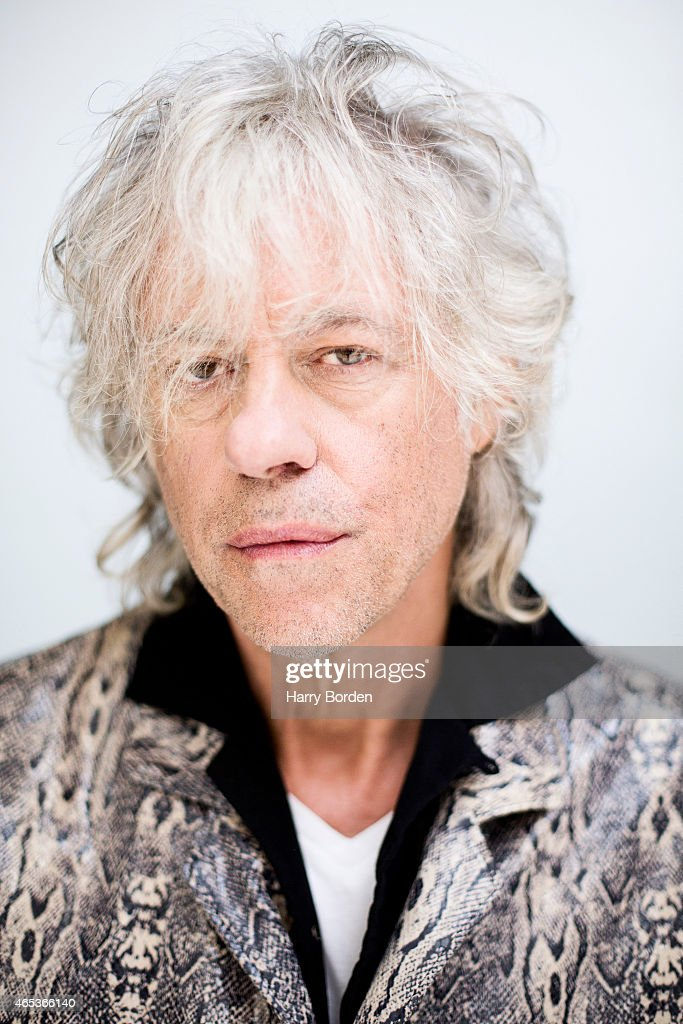 Singer and campaigner Bob Geldof is photographed for the Guardian on September 23, 2014 in London, England.