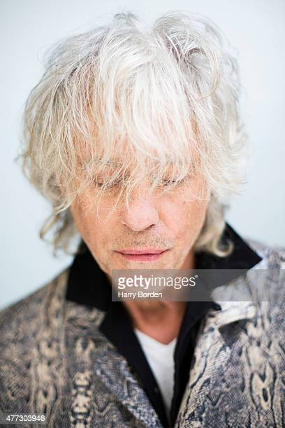 Singer and campaigner Bob Geldof is photographed for the Guardian on September 23 2014 in London England