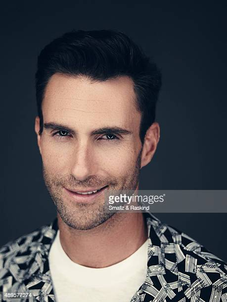 Singer and coach on The Voice Adam Levine is photographed for Billboard Magazine on September 9 2014 in Los Angeles California