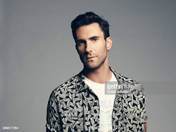 Singer and coach on 'The Voice' Adam Levine is photographed for Billboard Magazine on September 9 2014 in Los Angeles California