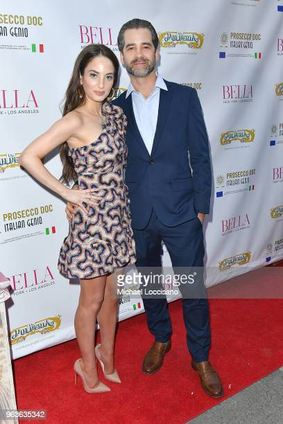 Singer and cover model Alexa Ray Joel and her fiance restauranteur Ryan Gleason attend Bella New York magazine's beauty cover launch at La Pulperia...