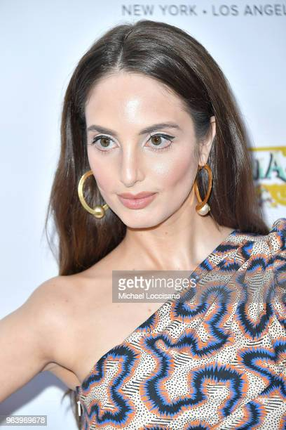 Singer and cover model Alexa Ray Joel hosts Bella magazine's New York's beauty cover launch at La Pulperia Restaurant on May 29 2018 in New York City