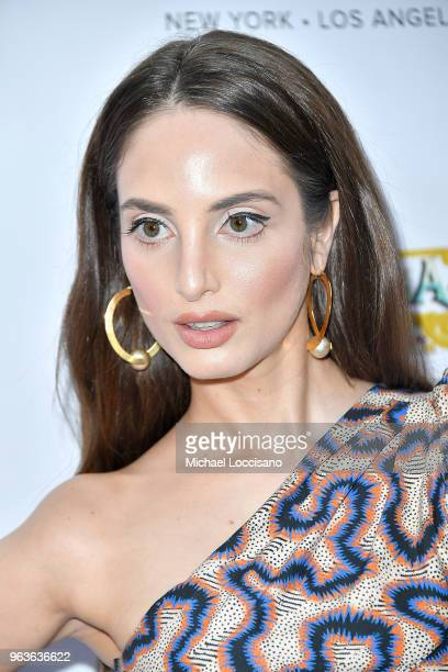 Singer and cover model Alexa Ray Joel hosts Bella New York magazine's beauty cover launch at La Pulperia Restaurant on May 29 2018 in New York City