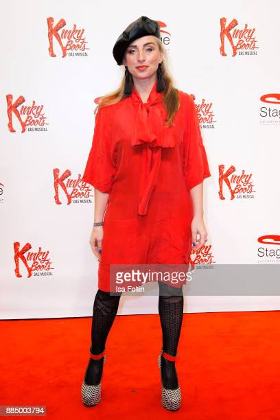 Singer and dancer Gabriela Gottschalk attends the 'Kinky Boots' Musical Premiere at Stage Operettenhaus on December 3 2017 in Hamburg Germany