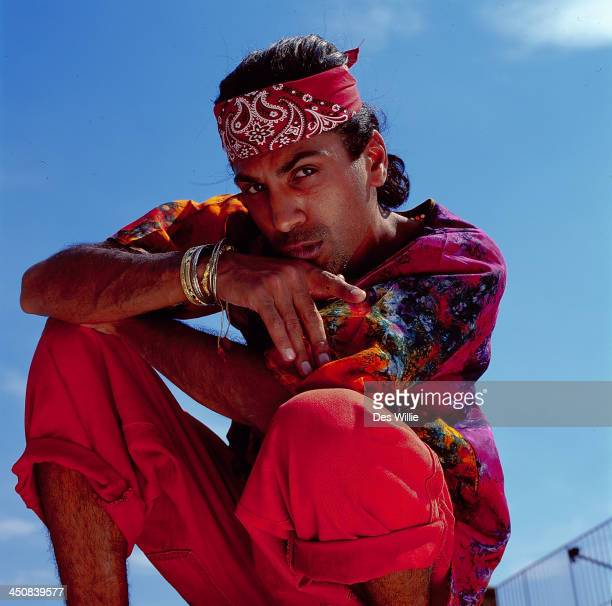 Singer and DJ Apache Indian, 1995.