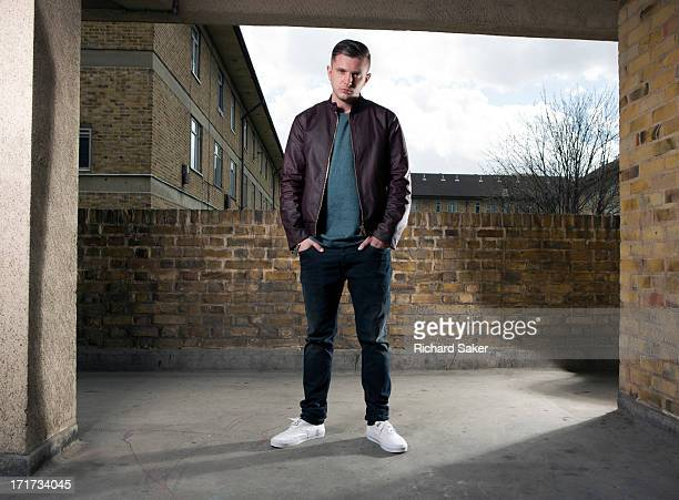 Singer and film director Plan B aka Ben Drew is photographed for the Observer on April 14 2013 in London England