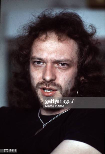 Singer and flautist Ian Anderson of Jethro Tull London 2nd June 1976