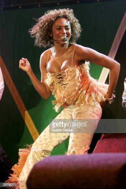 UK singer and former Spice Girl Mel B performing at the Freedom Concert in Trafalgar Square in London April 29 2001 Having noticed that her skimpy...